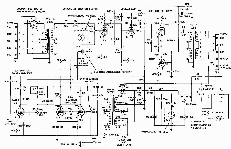 Схема звук компрессора