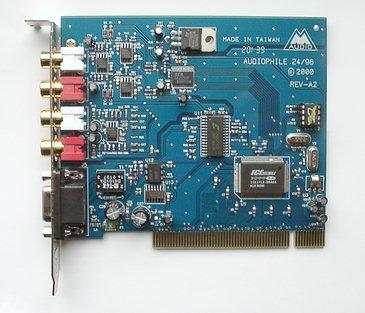 Схема audiophile 2496
