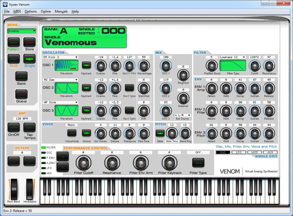 Программа синтезатор звука для компьютера