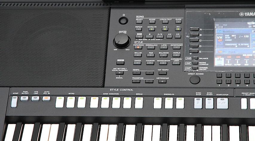Как стили в синтезатор