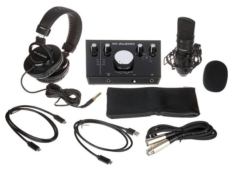 M-Track 2X2 Vocal Studio Pro — готовый комплект для