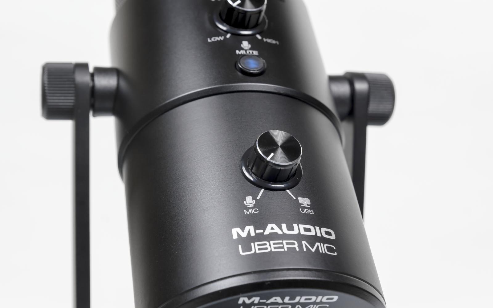 M-Audio Uber Mic — конденсаторный USB стерео микрофон для блогеров,  стримеров и музыкантов | ProSound