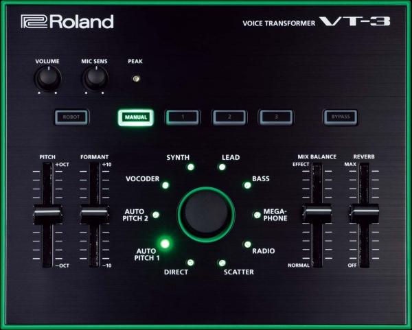 Вокальный процессор Roland VT-3 AIRA