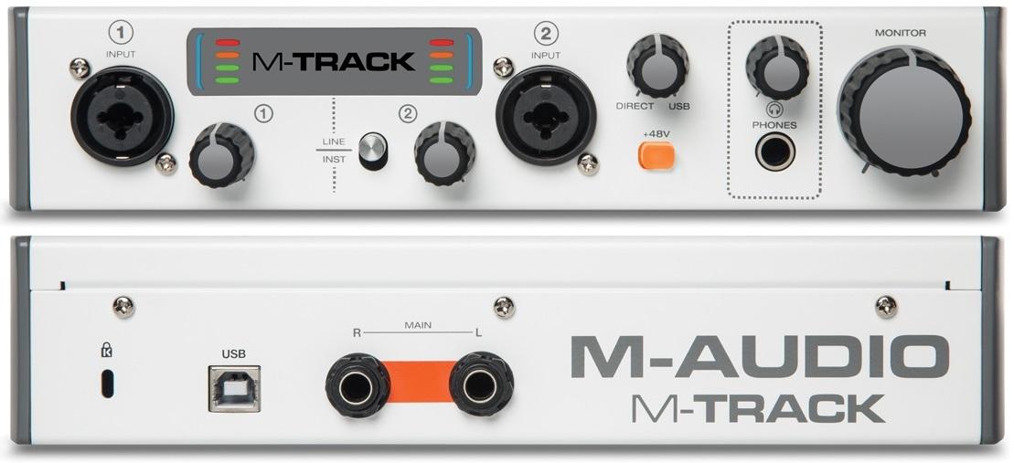 m audio m track схема