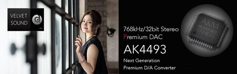 AK4493 – ещё один 2-канальный ЦАП премиум-класса от Asahi