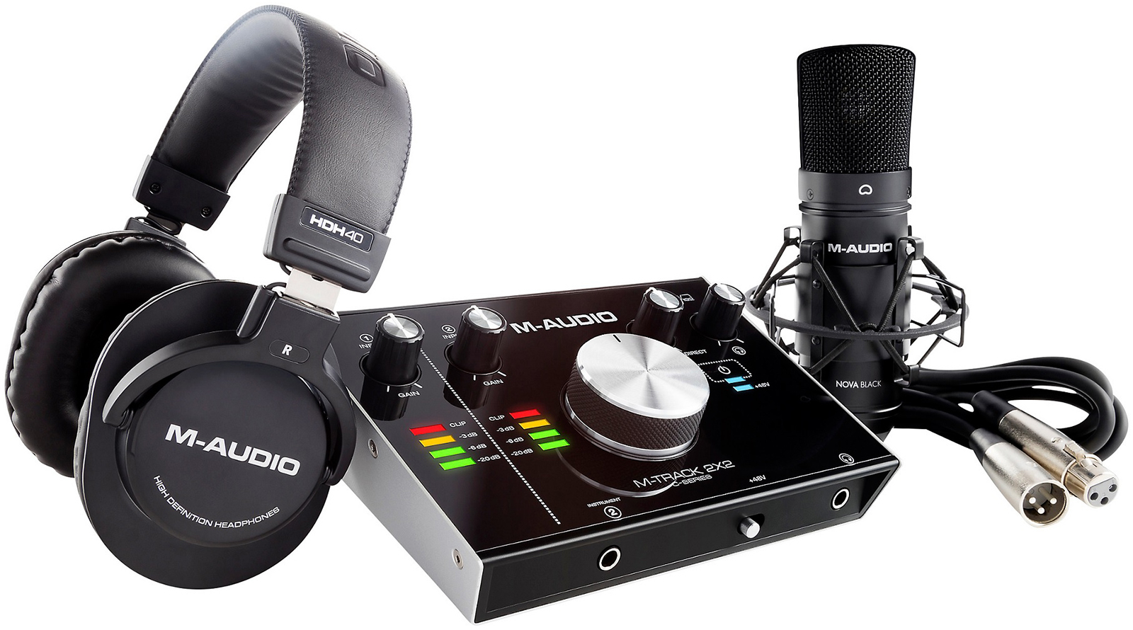M-Audio M-Track 2×2 Vocal Studio Pro – доступный по цене набор для ...